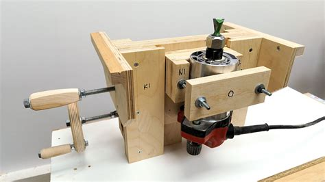 How To Build A Router Table Lift
