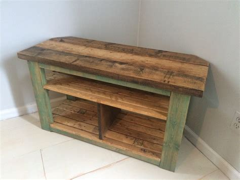 How To Build A Rustic Corner Tv Stand