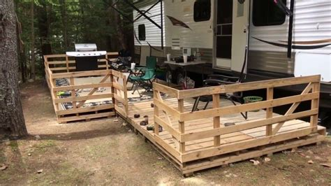 How To Build A Rv Deck Out Of Pallets