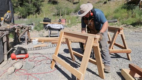 How To Build A Sawhorse Youtube To Mp3