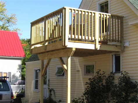 How To Build A Second Story Balcony Plans