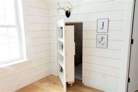 How To Build A Secret Bookshelf Door
