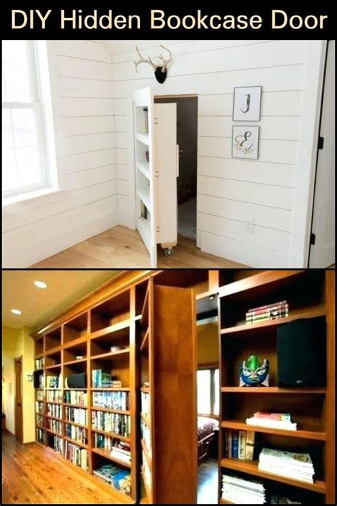 How To Build A Secret Room Behind Bookcase Spiral Staircase