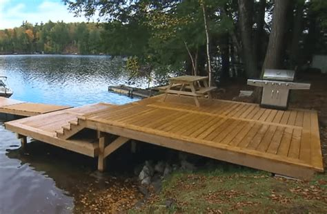 How To Build A Shoreline Decking