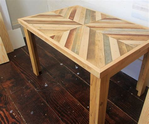 How To Build A Side Table With 4 Legs