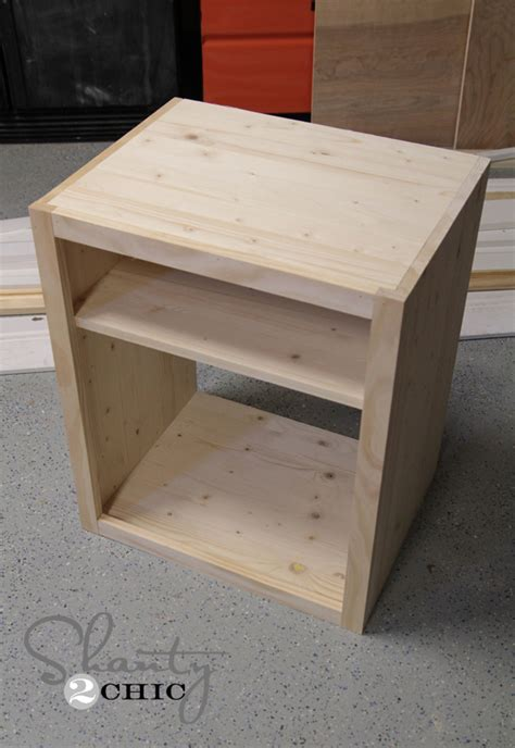 How To Build A Simple Bedside Table