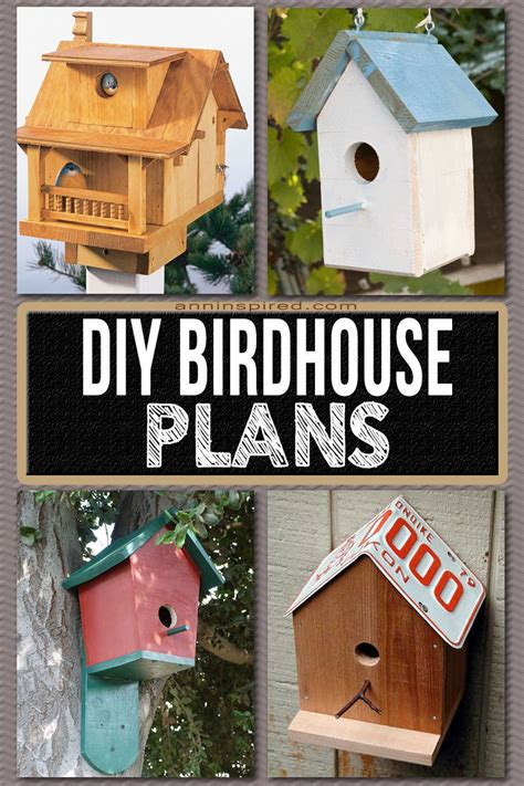 How To Build A Simple Birdhouse Plans