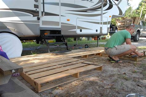 How To Build A Simple Deck For Camper Trailer