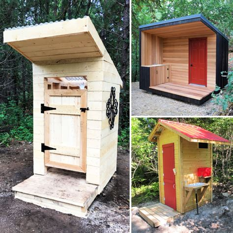 How To Build A Simple Outhouse Plans