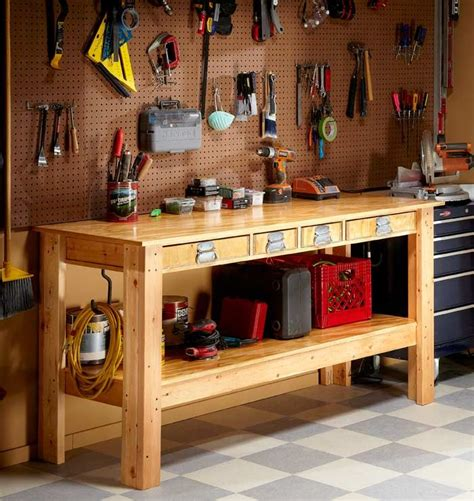 How To Build A Simple Workbench For The Garage