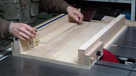 How To Build A Sled For Table Saw Youtube