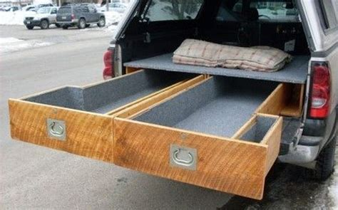 How To Build A Sliding Drawer In A Pickup Bed