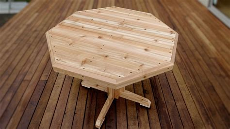 How To Build A Small Patio Table