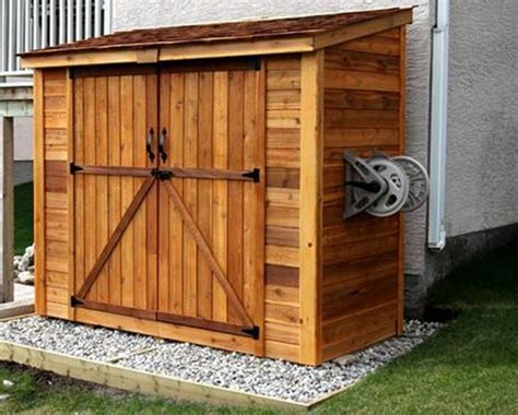 How To Build A Small Tool Shed Plans