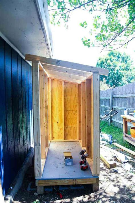 How To Build A Small Wood Storage Shed