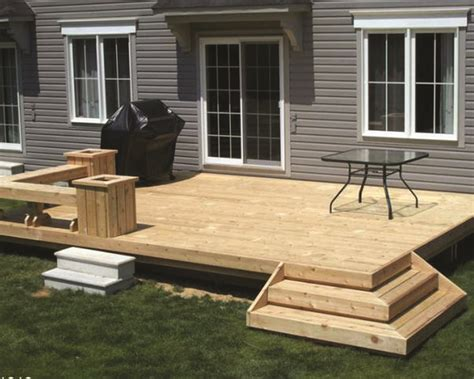 How To Build A Small Wooden Deck