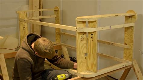 How To Build A Sofa Frame Youtube