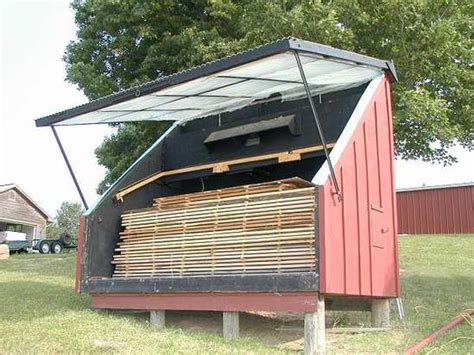 How To Build A Solar Kiln For Drying Lumber