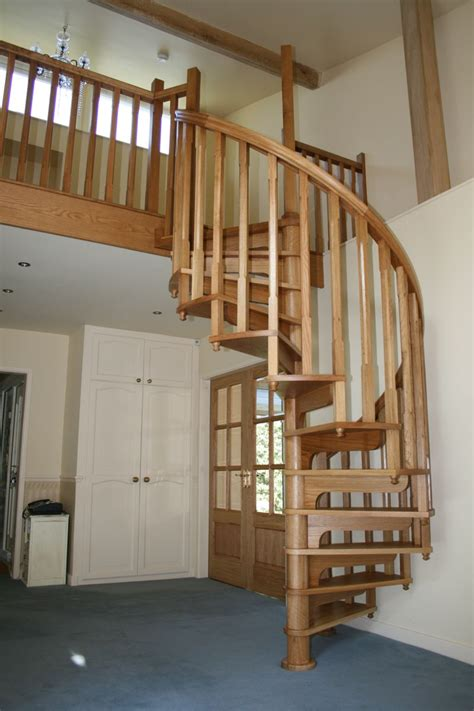 How To Build A Spiral Wooden Staircase With Loft