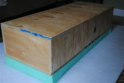 How To Build A Square Box With A Plywood Base