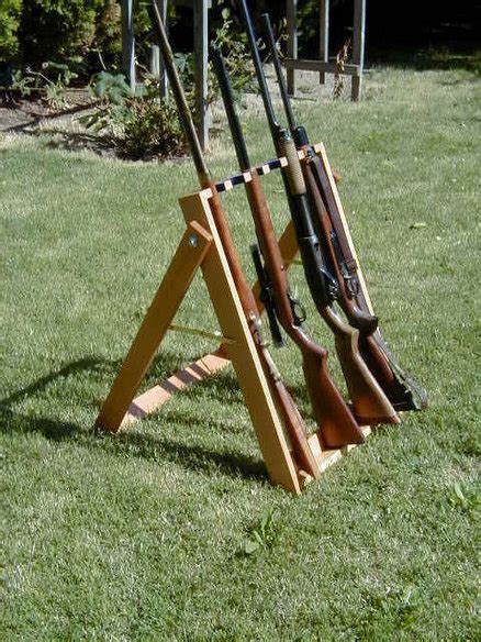 How To Build A Standing Gun Rack