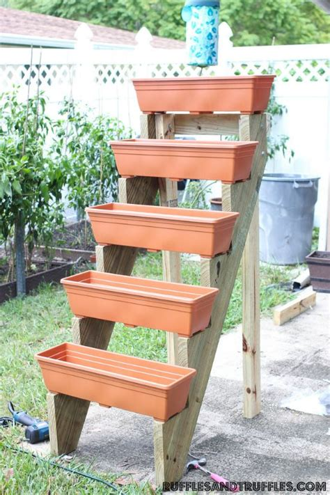 How To Build A Standing Wood Planter