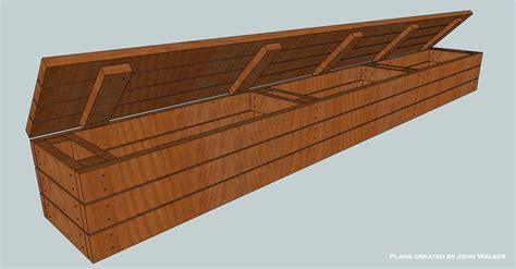 How To Build A Storage Bench For A Pool Deck