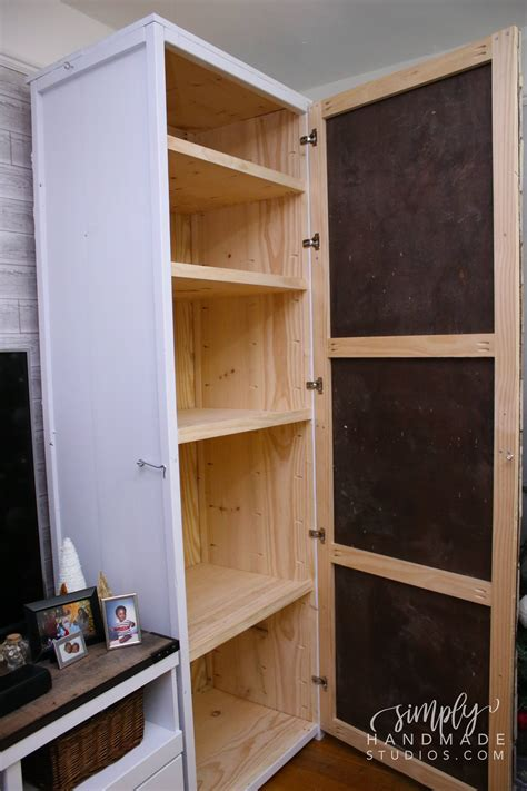 How To Build A Storage Cabinet Woodworking