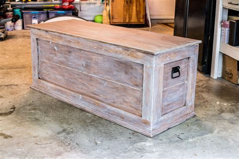 How To Build A Storage Chest For Blankets