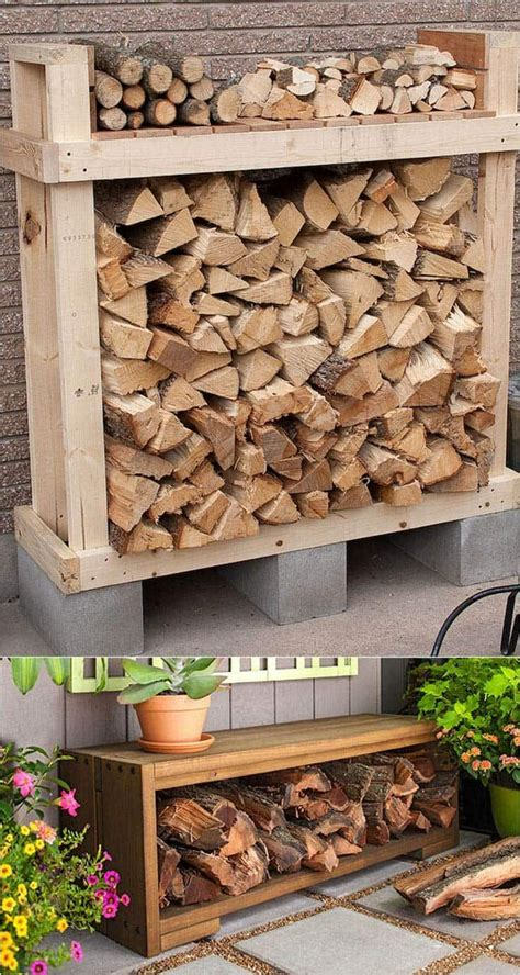 How To Build A Storage Rack For Firewood