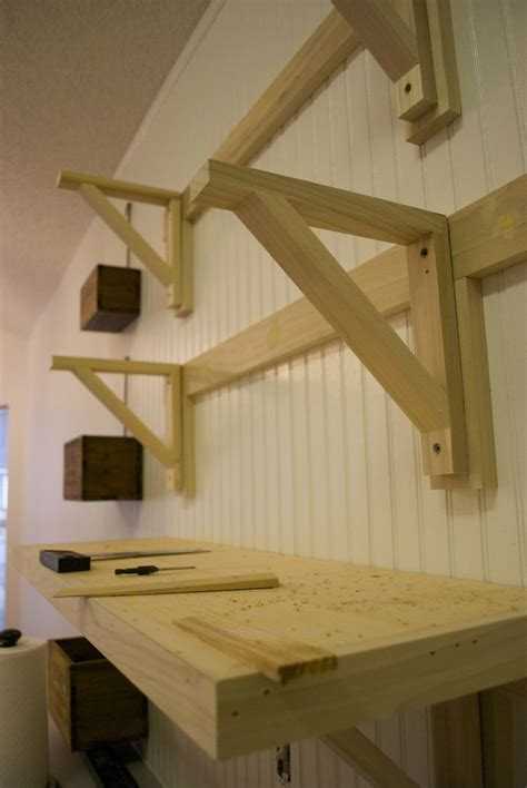 How To Build A Storage Shelf With 2x4 Brackets