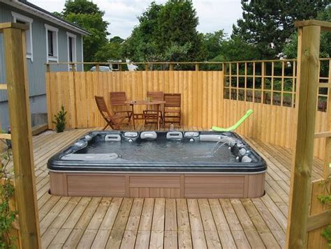 How To Build A Sunken Hot Tub Deck