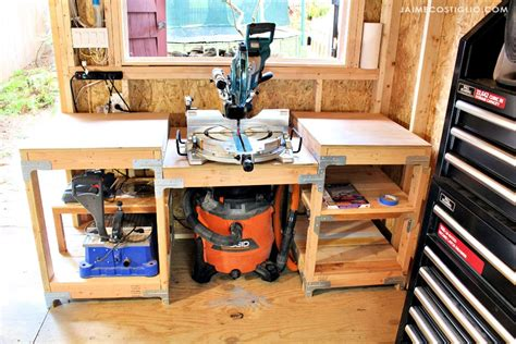 How To Build A Table Saw Station Youtube