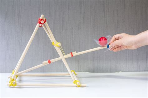 How To Build A Tabletop Trebuchet Sling Attachment