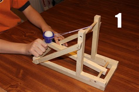 How To Build A Tabletop Trebuchet Youtube