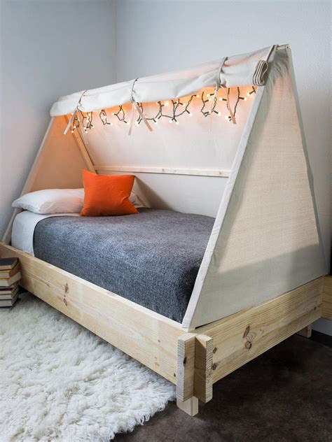 How To Build A Tent Bed