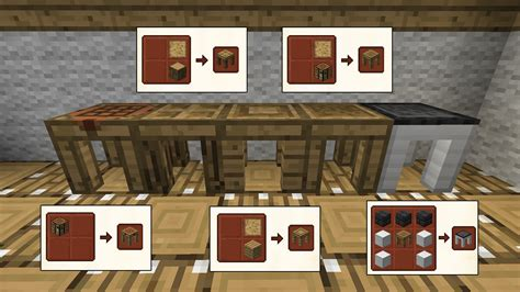 How To Build A Tool Station In Minecraft