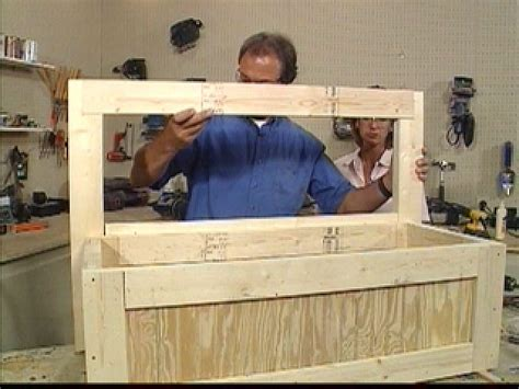 How To Build A Toy Chest And Bench