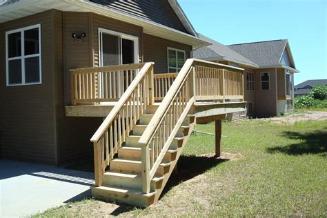 How To Build A Treated Wood Deck Railing