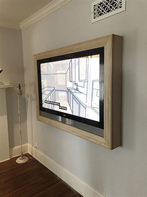 How To Build A Tv Frame On Wall