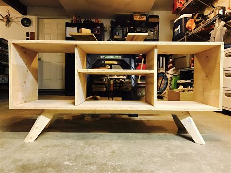 How To Build A Tv Stand Out Of Plywood Sizes