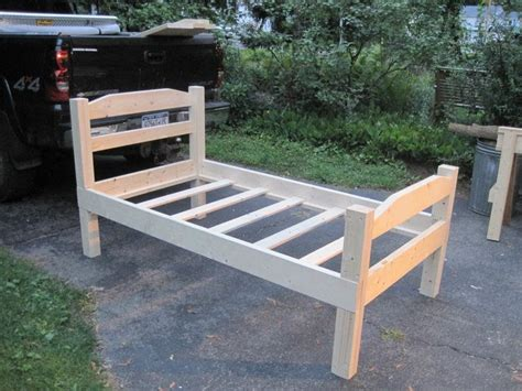 How To Build A Twin Size Wooden Bed Frame