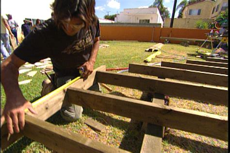 How To Build A Unattached Deck Pictures