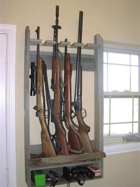 How To Build A Vertical Rifle Rack