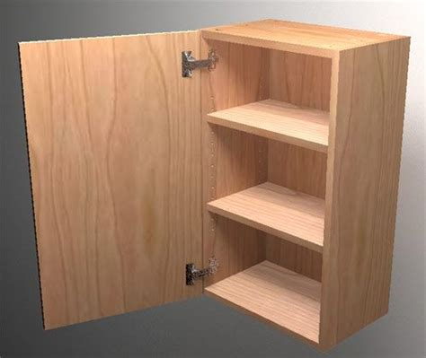 How To Build A Wall Cabinet Box