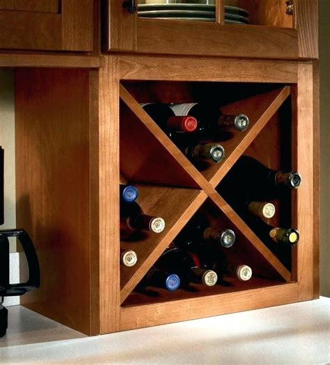 How To Build A Wall Cabinet Wine Rack