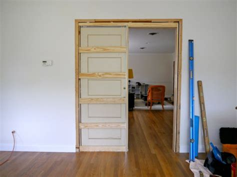 How To Build A Wall With A Pocket Door