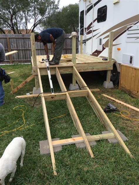 How To Build A Wheelchair Ramp Off A Deck