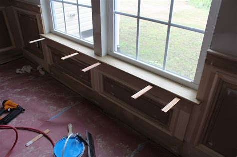 How To Build A Window Sill Inside