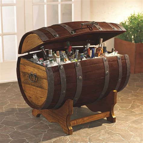 How To Build A Wine Barrel Cooler Stand